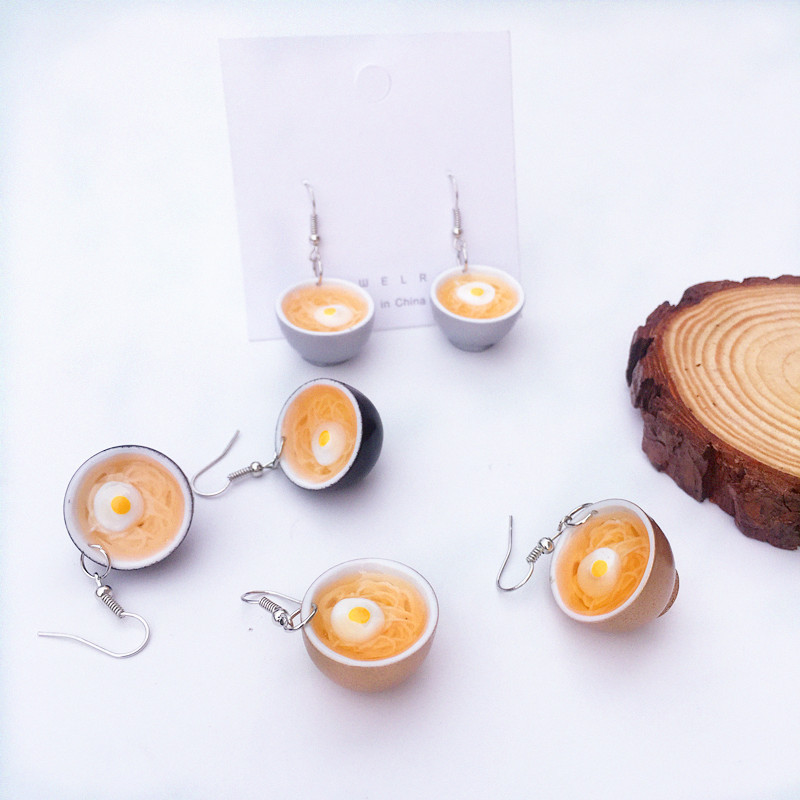 Egg Noodles Earrings