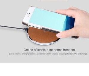 Image 5 - 4,7 zoll Nillkin drahtlose empfänger fall für iphone 7 fall abdeckung Qi drahtlose ladegerät empfänger abdeckung power lade Sender