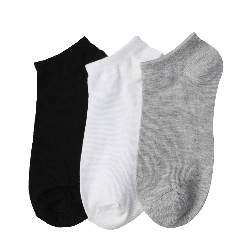 5 Pair Classic Man Socks Male Ankle Socks For Men Pure Color Business Style Summer Spring Invisible Socks Compression Calcetines