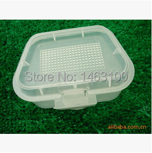 2pcs lot worms maggots live bait box holder container for Fishing worm box