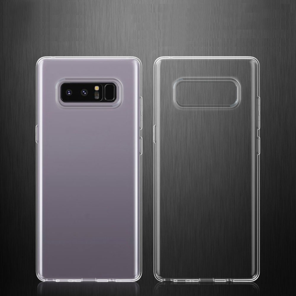 Soft TPU Silicone Transparent Clear Case Thin Anti Scratch/Shock/Dust Phone Cover For <font><b>Samsung</b></font> <font><b>Galaxy</b></font> <font><b>Note</b></font> <font><b>8</b></font> N950F N950FD N950U @ image