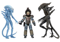 NECA ALIEN Lambert (Compression Suit) / Aliens Defiance Xenomorph / Warrior Alien PVC Action Figure Collectible Model Toy 18cm