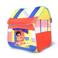 Play House Indoor And Outdoor Easy Folding Ocean Ball Pool Pit Game Tent Hut Girls Garden Playhouse Kids Children Toy