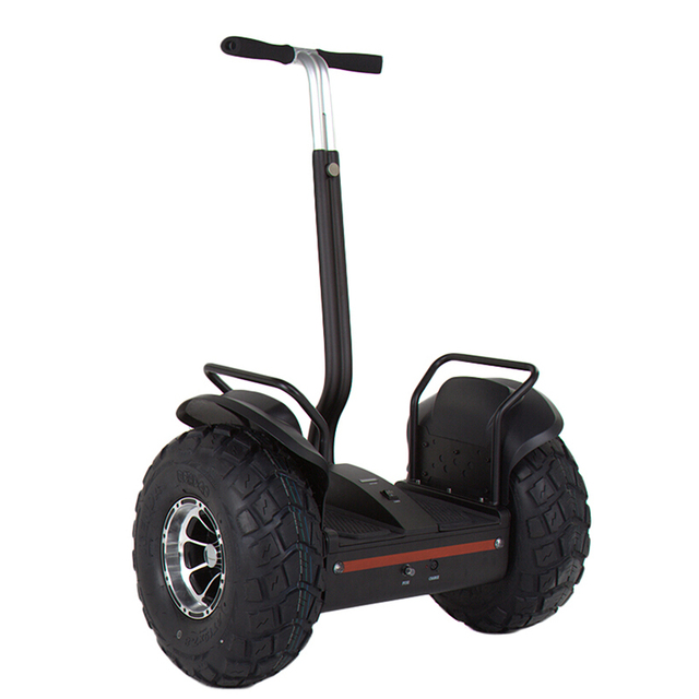 Double Wheel Self Balancing Electric Scooter Handlable Monocycle 2 Wheels Car Standing Skateboard With Remote Control
