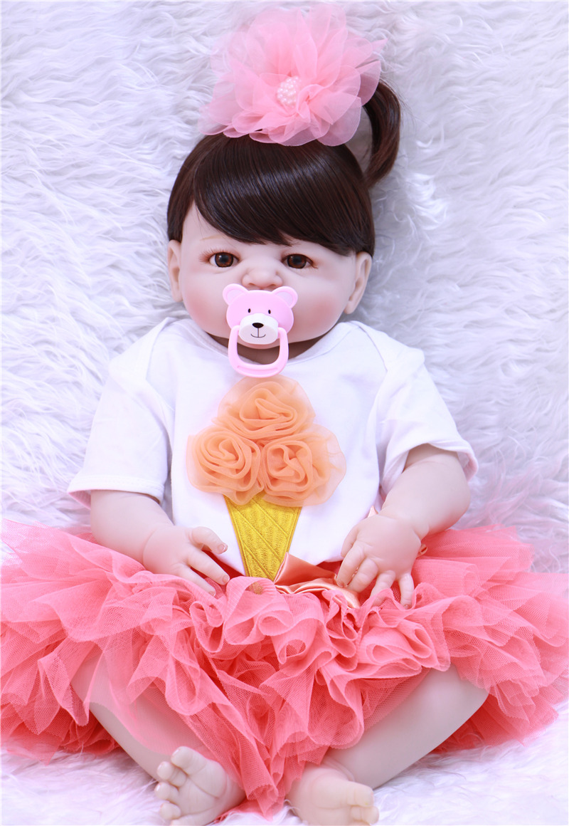 NPK 23 doll reborn babies full silicone reborn baby dolls toys for kids gift princess doll bebes reborn com corpo de siliconeNPK 23 doll reborn babies full silicone reborn baby dolls toys for kids gift princess doll bebes reborn com corpo de silicone