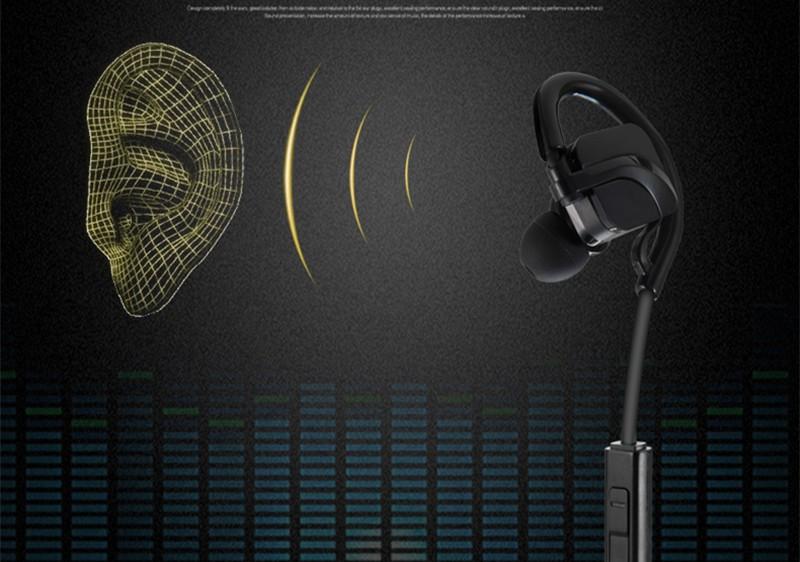 Bluetooth Sports Headphones headset  HD Stereo music headphone voice control  wireless Handsfree sweatproof earphone (4)