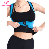 Lover Beauty Slimming Neoprene Vest Hot Sweat Shirt Body Shapers For Weight Loss Belly Girdle Waist Trainer Corset Shapewear-A
