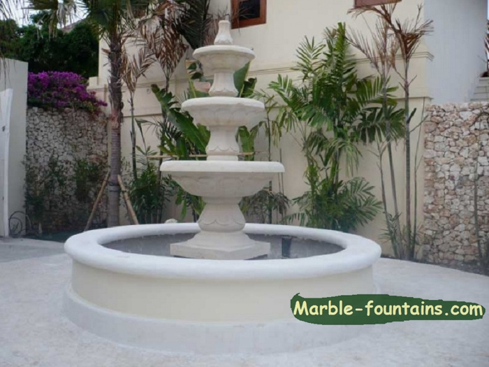 Fountains For Home Decor White Marble Yard Fountains
