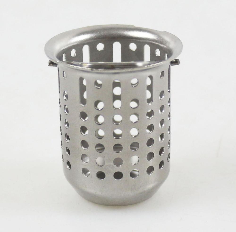 Talea Stainless Steel Kitchen Sink Strainer Waste Plug Drain Stopper Filter Basket Drain Strainer Inner Basket