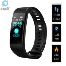 Inteligentny zegarek mężczyźni opaska monitorująca aktywność fizyczną pomiar ciśnienia krwi tętno tracker do monitorowania aktywności wodoodporny smartwatch dla ios