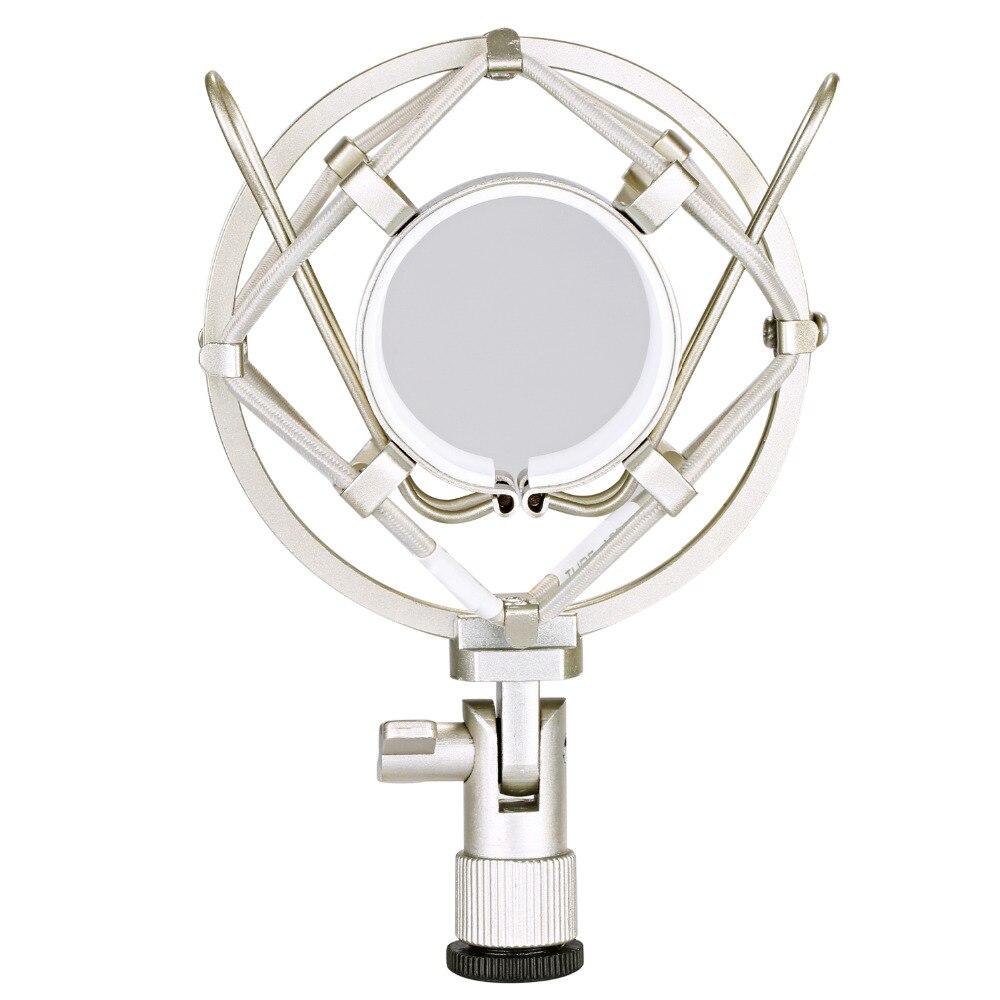 Neewer Microphone Shock Mount Holder Clip Anti Vibration Isolation for Studio Condenser Mic Radio Broadcasting Studio