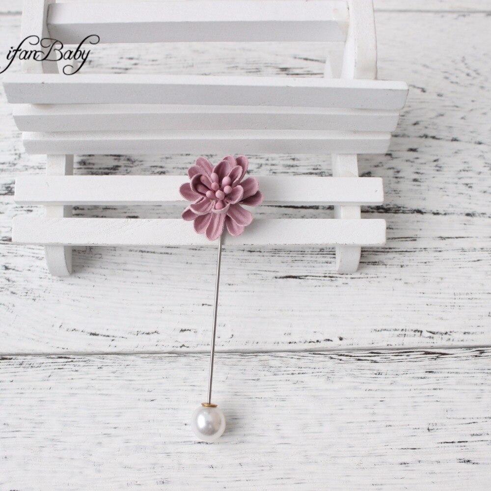 Fashion Brooch Men women brooch pins burn flower lapel pins suit wedding Brooch clip
