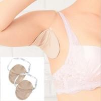 1 Pair Washable Deodorant Stop Underarm Clothing Sweat Perspiration Pads Pad For Armpit Absorbing Deodorant Antiperspirant