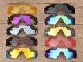 Pv polarizado lentes de repuesto para oakley gafas de sol de la trayectoria del radar de múltiples opciones