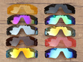 Pv polarizados radar path sunglasses-várias opções de lentes de reposição para óculos oakley