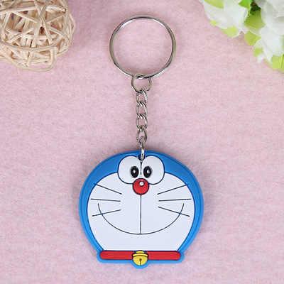 1 PCS Animal Bonito Dos Desenhos Animados Urso Mickey Spiderman Silicone anel Chave chaveiro Mochila Encantos Keychain Chave Titular Presente Dos Miúdos