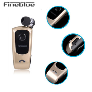 Image 2 - FineBlue F920 ワイヤレス Bluetooth イヤフォンヘッドセットインイヤーイヤホンヘッドセットサポートコール思い出させる振動襟クリップ