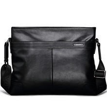 100% Cow Leather Men Bag Versatile Genuine Leather Shoulder & Crossbody bags for Business and Leisure (XW-117)
