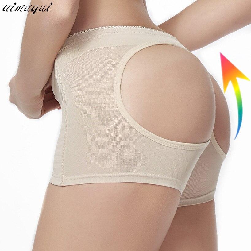 Sexy Women Mesh Butt Lift Shaper Panty Hip Butt Enhancer Boysorts Underwear Body Shaperwear Female Butt Booty Lifter Panties