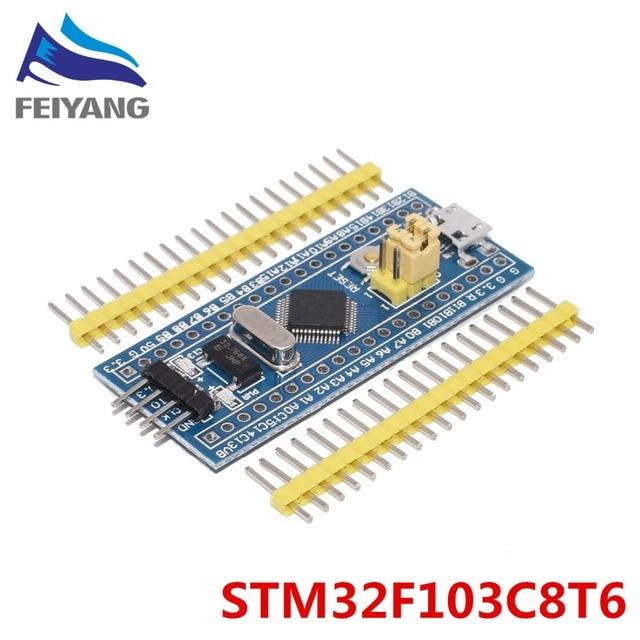 1 шт SAMIORE робот STM32F103C8T6 ARM STM32 Минимальная Системы развитию Модуль