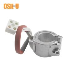48mm diâmetro interno 230 v aquecedor de banda cerâmica 48x3 5/48x40mm altura injetada molde elemento aquecedor potência 350 w/400 w