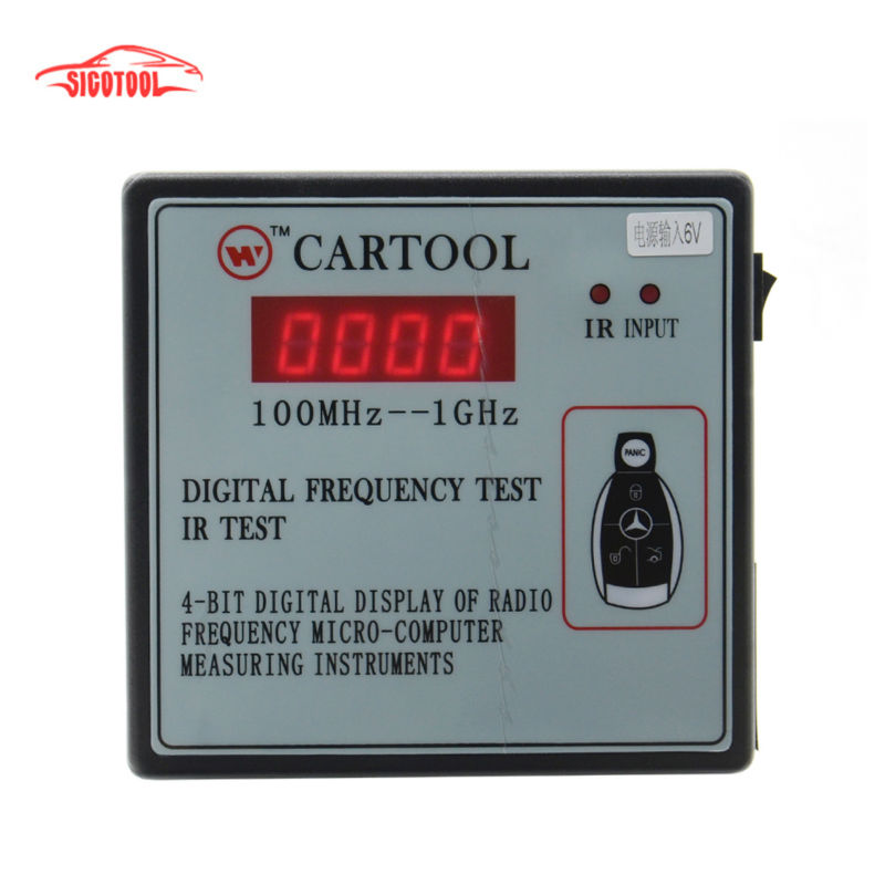 ФОТО Best price Car IR Infrared Remote Key Frequency Tester (Frequency Range 100-1000MHZ) with free shipping