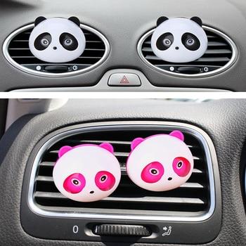Panda Decor Decoration Plastic Auto Decoration Car Air Purifier Пенал