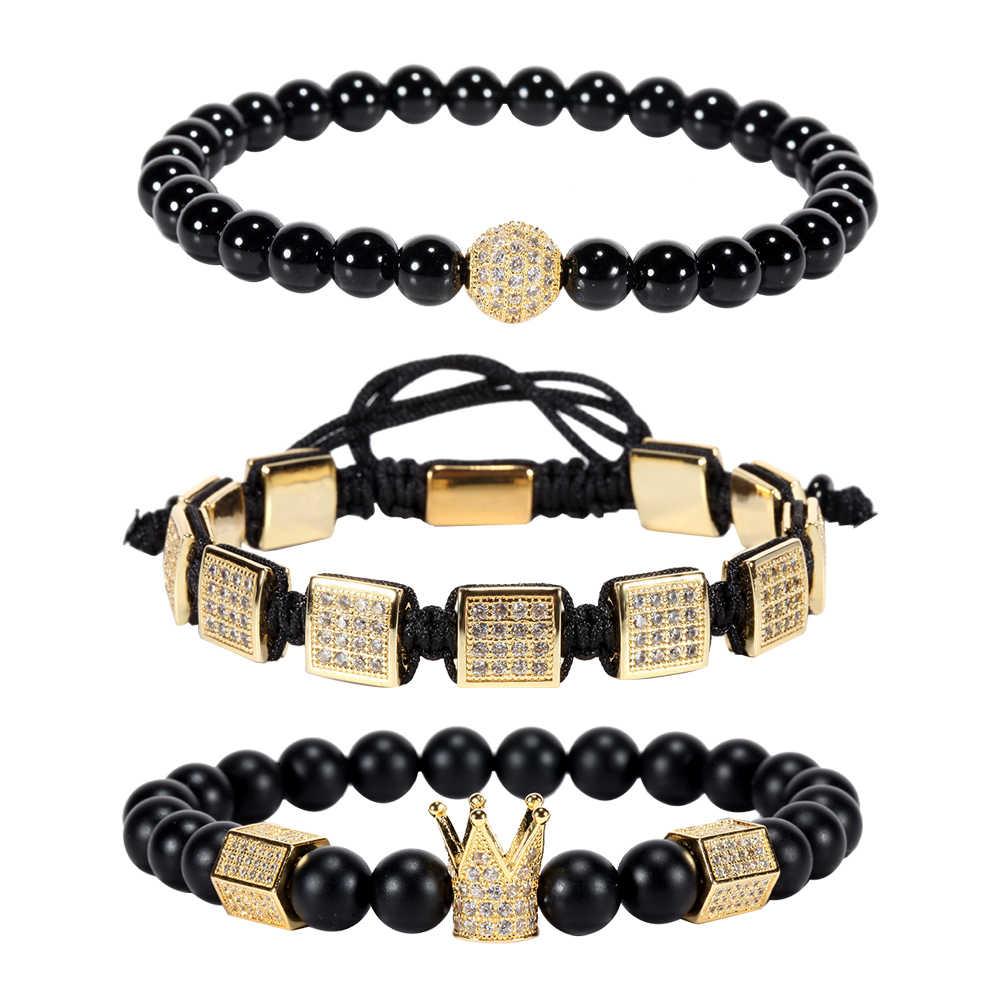 Mcllroy bransoletka męska/ze stali nierdzewnej/kotwica/skóra/bransoletki dla kobiet mężczyzn kamień naturalny bransoletka moda męska biżuteria prezent 2018