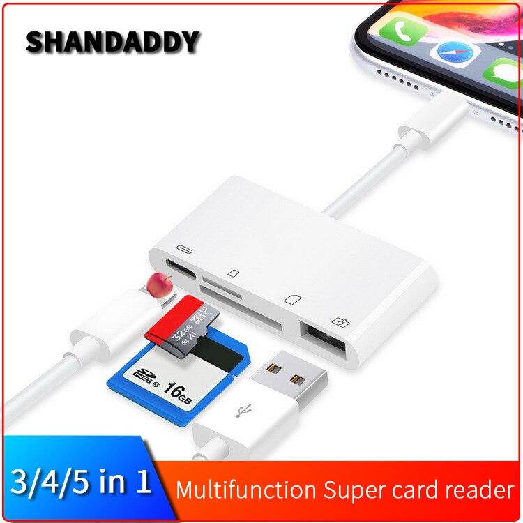 3PC USB 2.0 Micro SD SDHC TF Flash Memory Card Reader Mini Adapter For PC TCAO