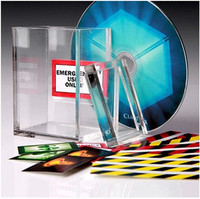 Classic Magic Trick poker cards toys for kids The Clarity Box by David Regal WITH DVD close up magic tricks