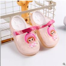 ; детские сандалии; коллекция года; детская обувь; тапочки для девочек и мальчиков; резиновая обувь; модные детские тапочки; Детская домашняя обувь; 27