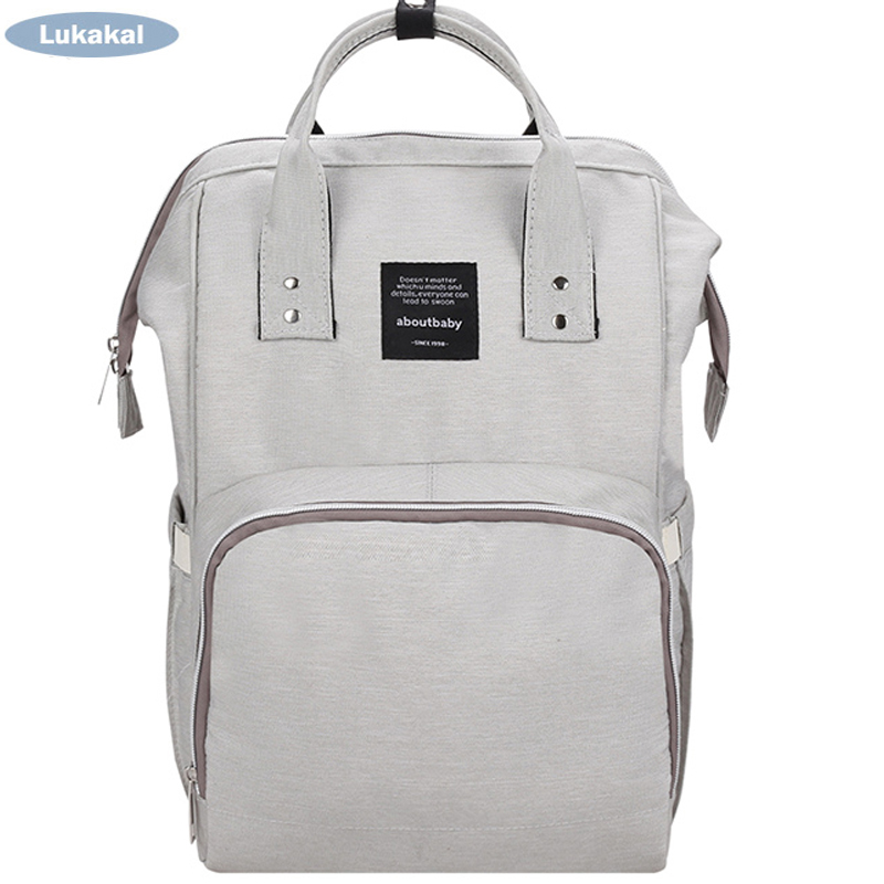 Large Capacity Mummy Diaper Bag WaterProof Baby Diaper Bags BackPack Fashion Brand Maternity Nappy Bag BackPack For Baby Care стоимость