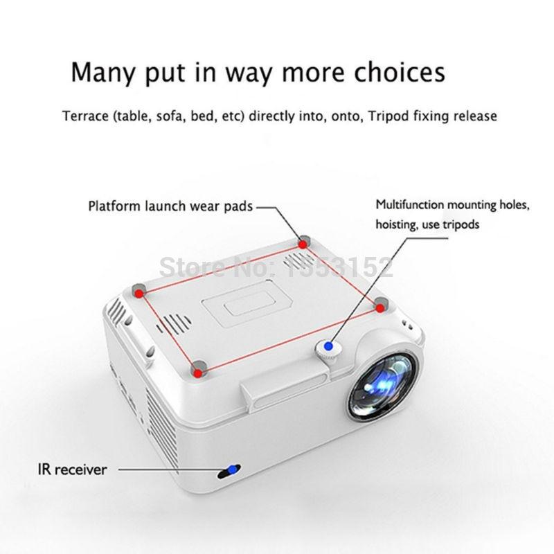 Semua orang Keuntungan 2000 lumens Projektor Android 4.4 HD LED Wifi - Audio dan video rumah - Foto 4