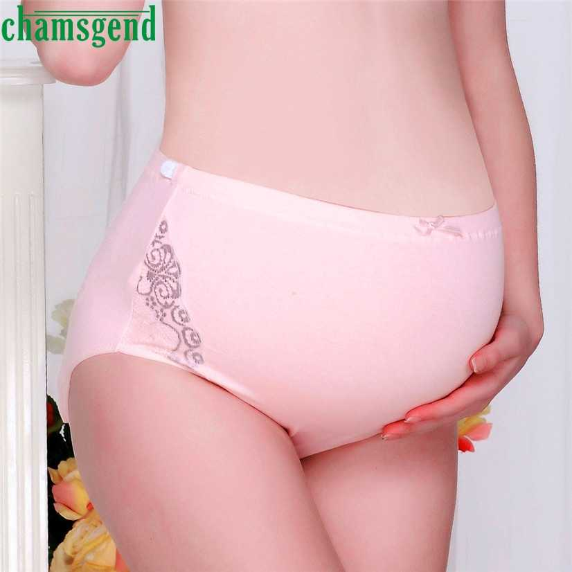10de93813d7 CHAMSGEND Best seller drop ship Women Fashion Ladies Pure Color Pregnancy  Maternity Pregnant Women Underwear Panties