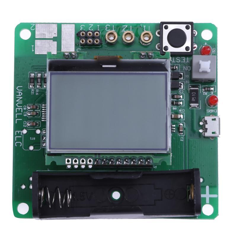 MG328 3.7V ESR Meter LCD Graphic Test DIY Mulitmeter Capacitor Transistor Tester Diode Measuring Hot Sale