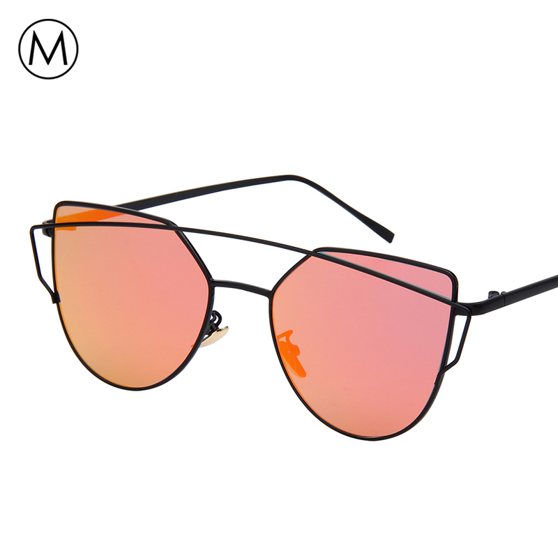 a3678a334c6a5 Meself High Quality Silver Mirrored Sunglasses Women Brand Designer Flat  Lens Reflective Sun Glasses Female Shades Oculos De Sol-in Sunglasses from  Apparel ...