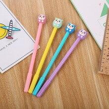 40 pcs 만화 편지지 올빼미 중립 펜 크리 에이 티브 멋진 학생 펜 사무 용품 서명 펜