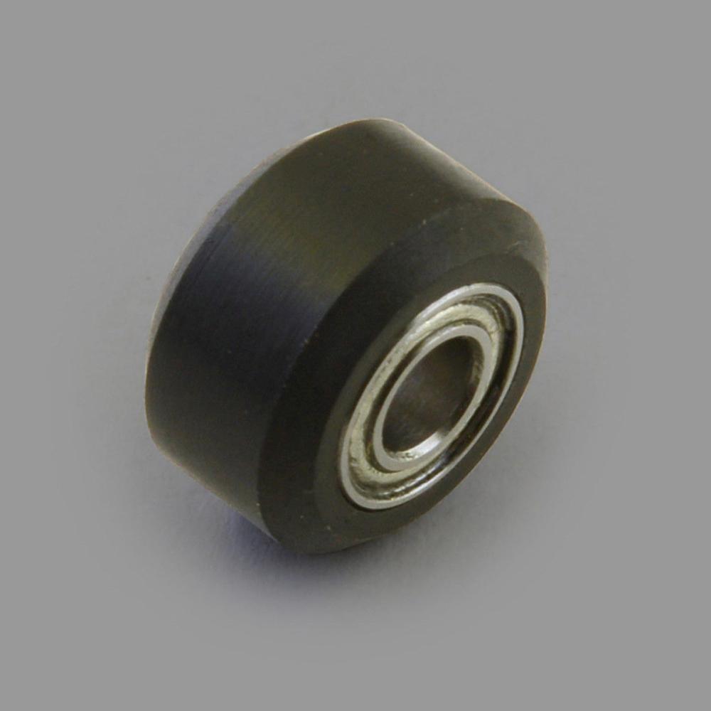 Funssor Алюминий экструзионные небольшой V колеса delrin сборки 5 мм Диаметр ЧПУ 3D-принтеры