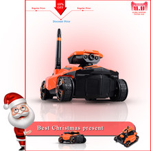 YD-211 RC Tank Wifi FPV 0.3MP HD Camera App Remote Control Toy Phone Controlled Robot ABS Long Working Time Toys(China)