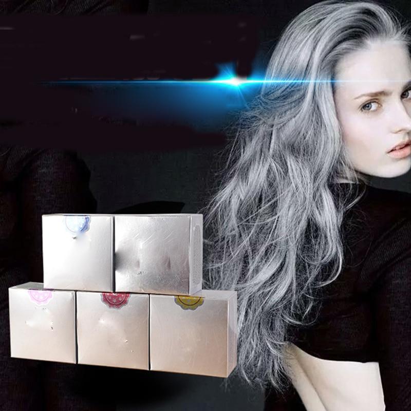 5 color temporary hair dye