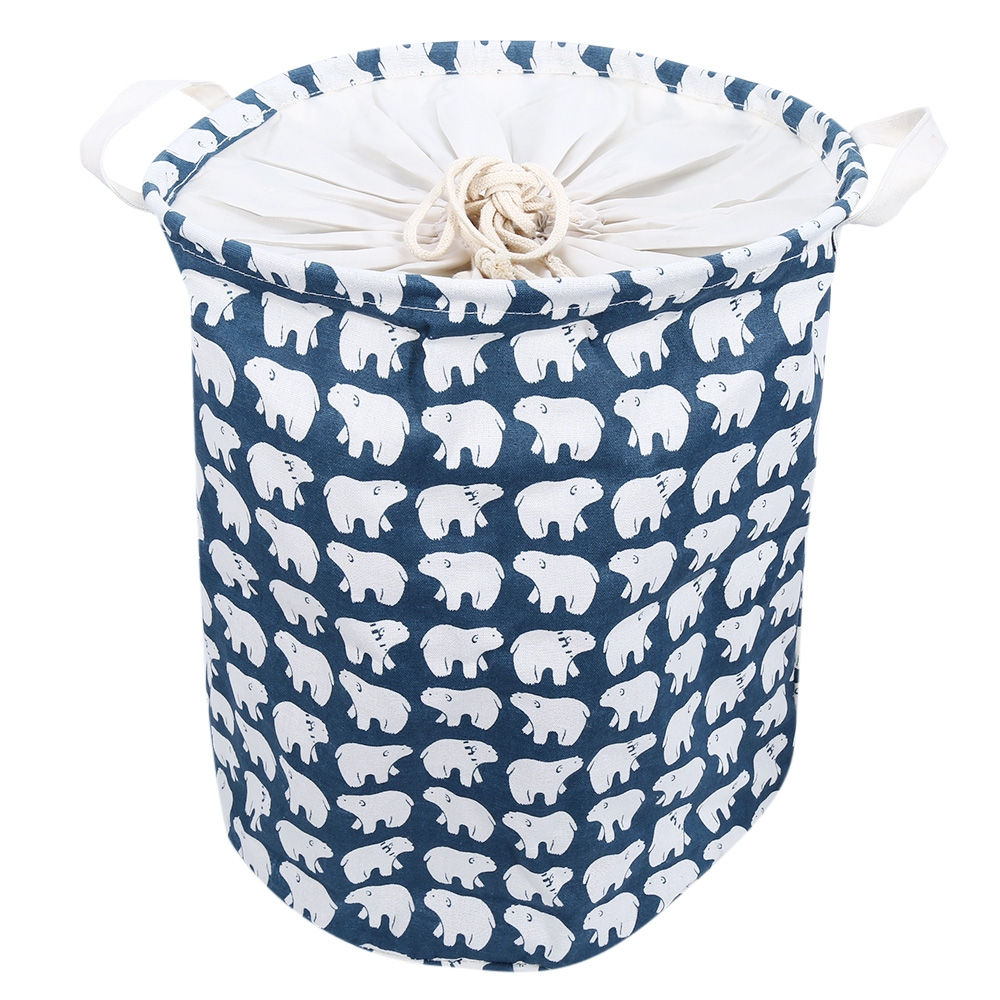 Cute Laundry Hamper Us 10 58 Multifunction Cute Dirty Toy Clothes Children Laundry Basket Folding Storage Basket Box Bag Organizer Big Laundry Hamper Kids In Storage
