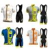2017 Pro Team Ale Cycling Jersey Short Sleeve Shirts Bib Pants 9D GEL PAD Set Ropa