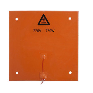 Image 5 - CR 10 CR 10S 310*310MM Silicone Heater Pad 220V 750W silicone Heatbed 3M adhesive for cr10 cr10s 3D build plate heating parts