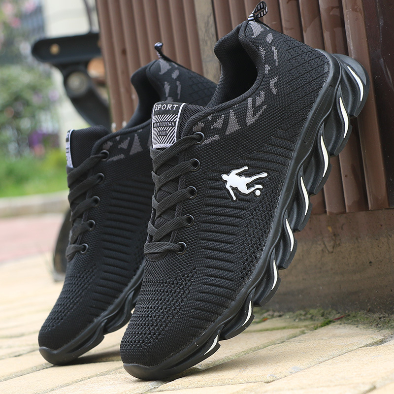 Mens Running Shoes Air Mesh Sneakers Outdoor Sport Shoes Comfortable Breathable Jogging Shoes Black Sneakers chaussure hommeMens Running Shoes Air Mesh Sneakers Outdoor Sport Shoes Comfortable Breathable Jogging Shoes Black Sneakers chaussure homme