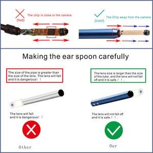Image 5 - 3 w 1 USB OTG wizualne endoskop do czyszczenia uszu łyżka funkcjonalne narzędzie diagnostyczne do czyszczenia uszu z systemem Android kamera 720 P ucha wybrać