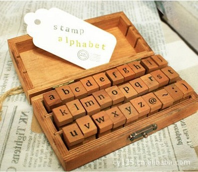 30pc/SET Retro Vintage Alphabet Lowcase Pattern Wooden Rubber Stamp Scrapbook DIY Floral Lace Decoration Stamp High Quality цифровая камера other great create lisa pavelka rubber stamp set exotique strip