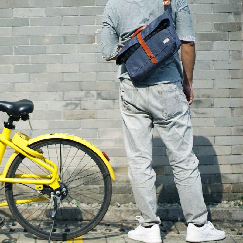 New Group Luxury Laptop Massager Single Shoulder Bags for Men Waterproof Nylon Crossbody Bags Male Messenger Bag