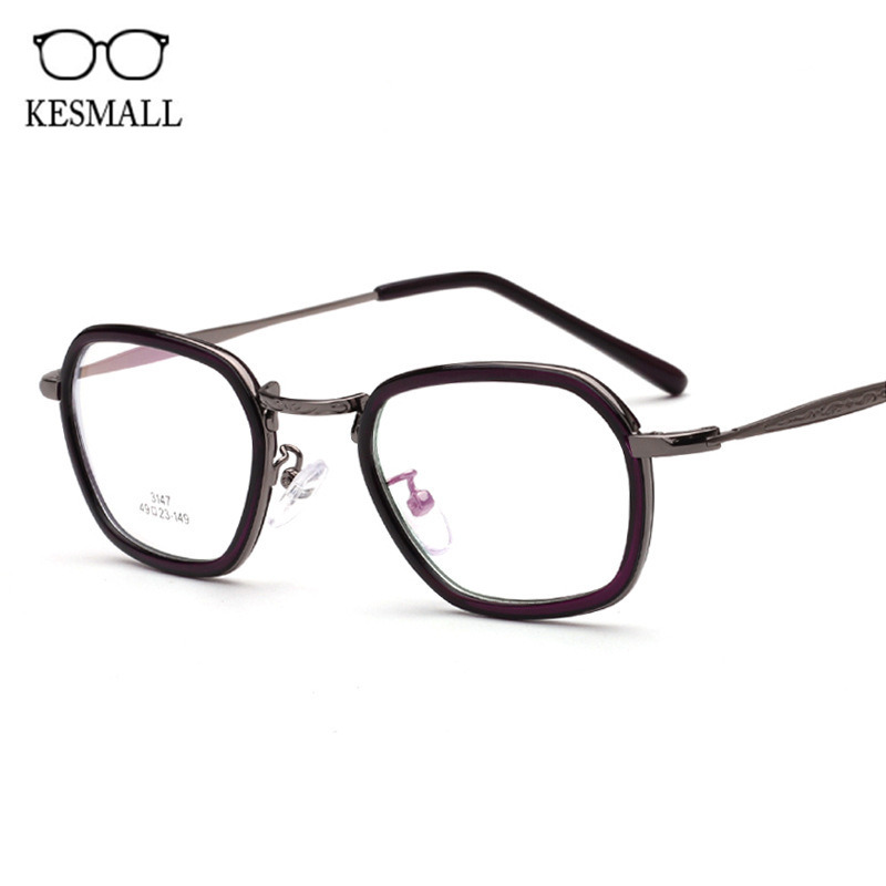 KESMALL New Prescription Diopter Eyewear Women Gaming Glasses Frame With Myopia Lens Men Fashion Clear Reading Eyeglasses XN915P new hot fashion unisex women men hipster vintage retro classic half frame glasses clear lens nerd eyewear 4 colors