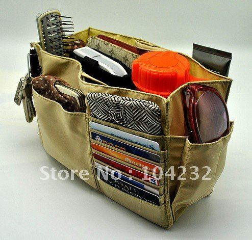 Free Shipping Diy Custom Direct Factory Production Whole Purse Bag Organizer 100 Pcs Lot
