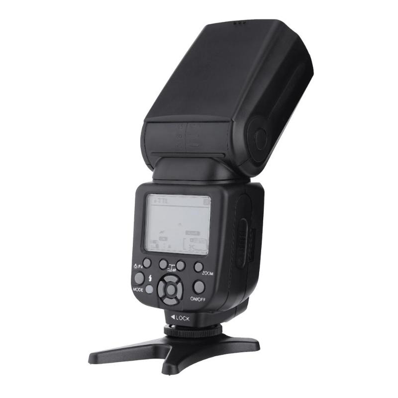 Speedlight LCD Display Camera Accessories Flashes HSS 1/8000s Master TTL Speedlite High Speed Sync ZM-860T Flash for Canon Nikon zomei zm860t lcd display high speed ttl speedlite speedlight flash for canon 5d2 5d3 7d 700d nikon d7500 d7300 d5300 dslr camera